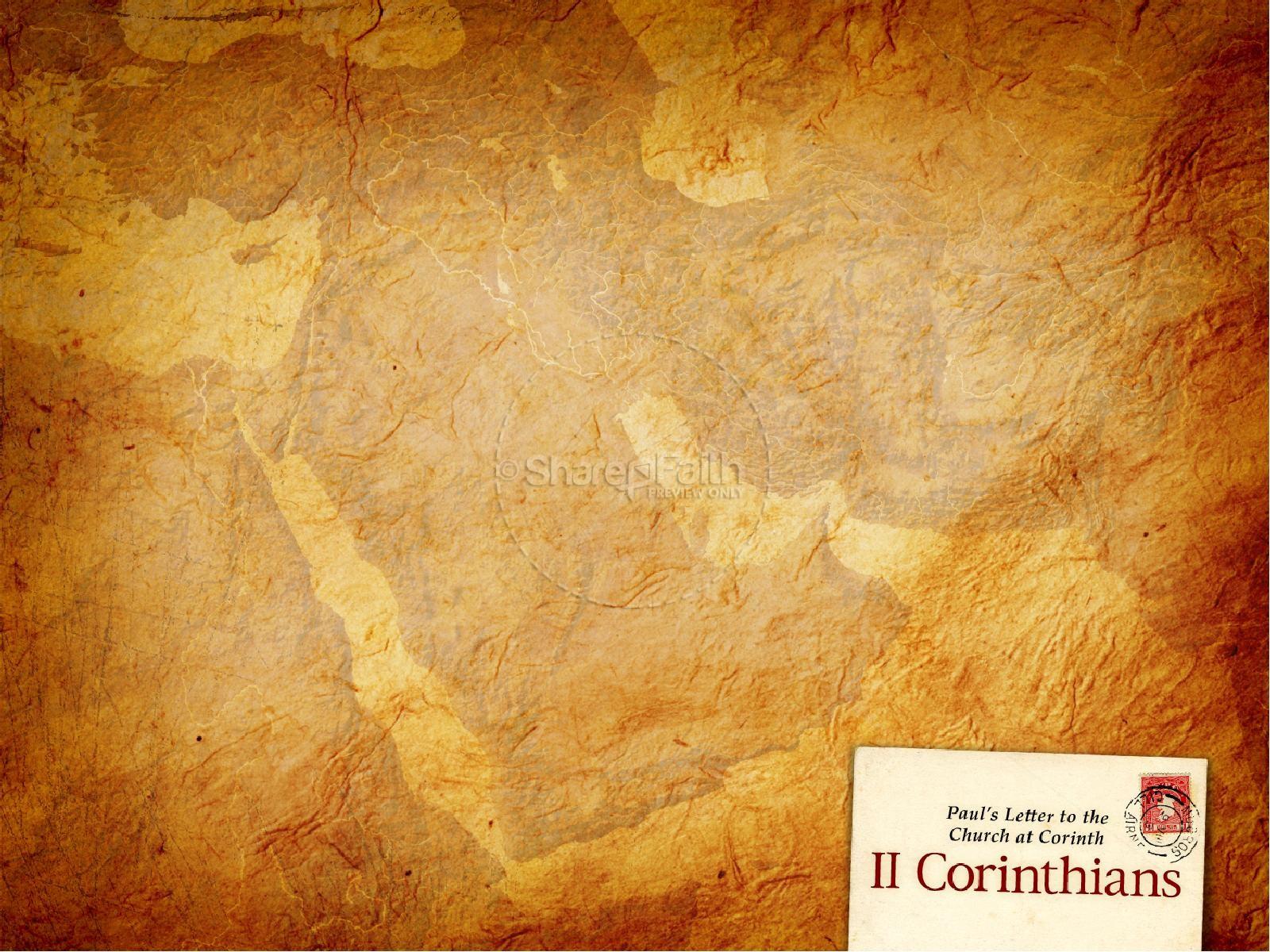 2 Corinthians PowerPoint Template   slide 2