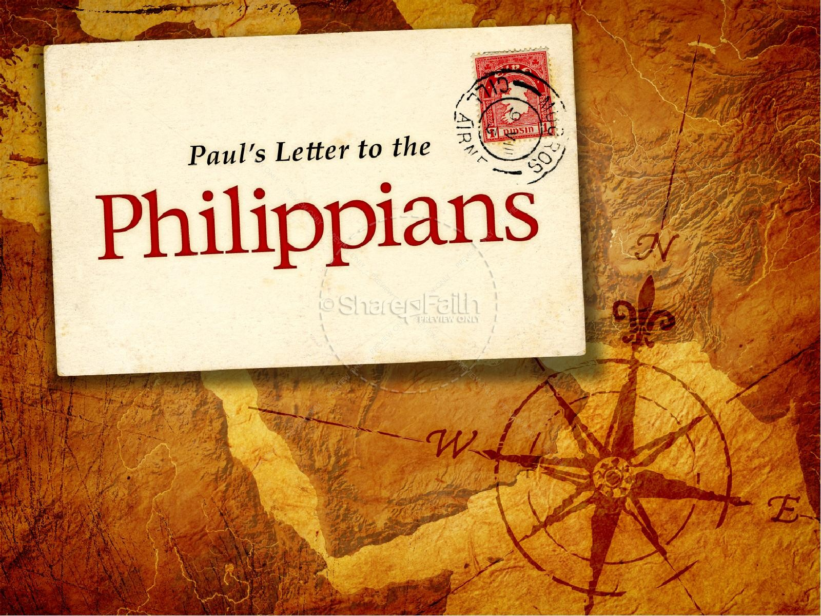 pauls letter to the galatians book of philippians powerpoint template 4465