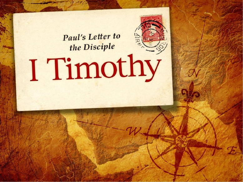 Book of 1 Timothy PowerPoint Template