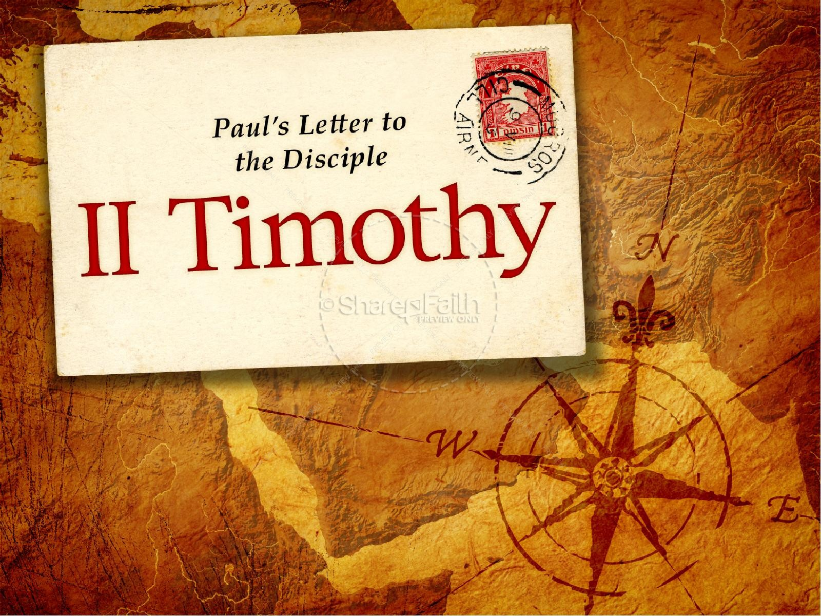 book of 2 timothy powerpoint template new testament books
