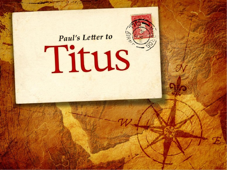 The Book of Titus PowerPoint Template
