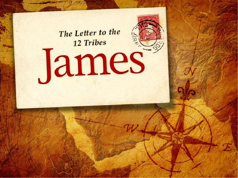 The Book Of James PowerPoint Template