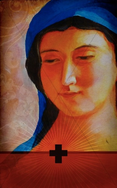 Mary The Mother Of Christ Bulletin Cover