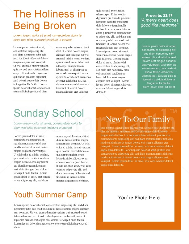 Fishers Of Men Church Newsletter | page 2