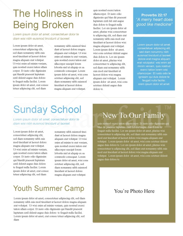 Hand In Hand Church Church Newsletter | page 2
