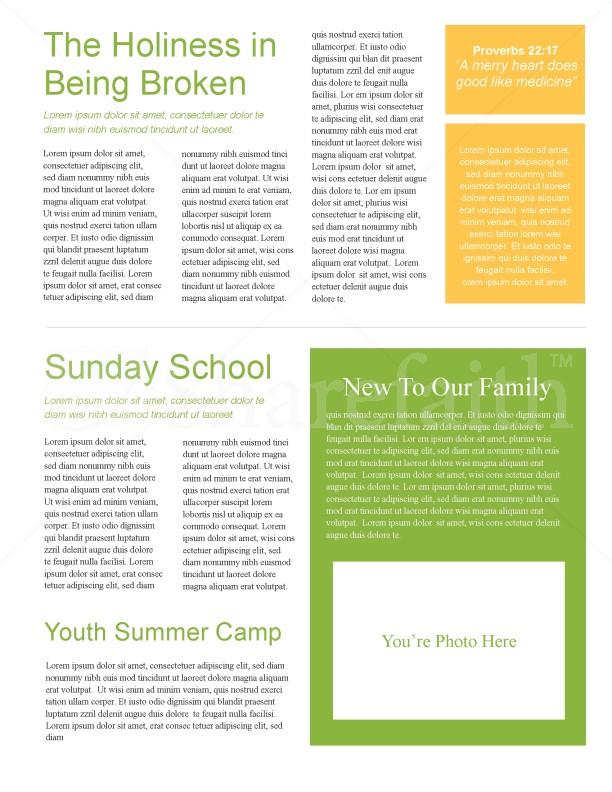 Leaves Of Green Church Newsletter