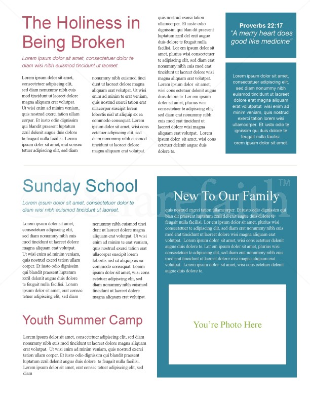 Jesus On The Cross Church Newsletter | page 2