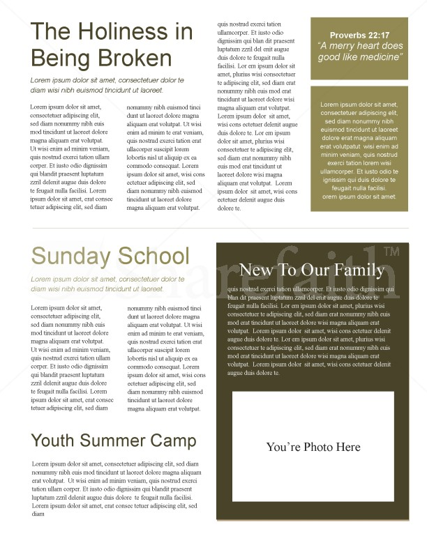 Praying Hands Church Newsletter