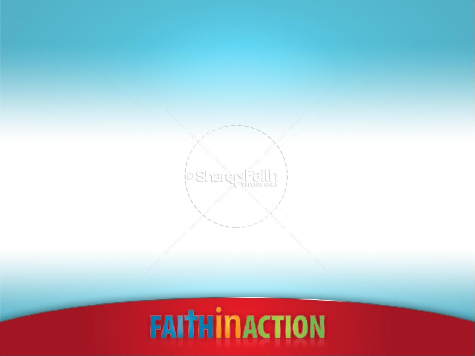 Faith In Action PowerPoint Sermon Template | PowerPoint Sermons