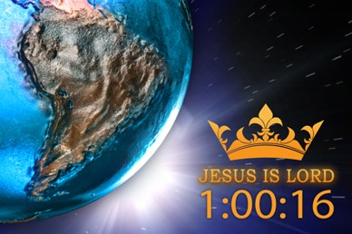 Jesus Is Lord 3 Minute Countdown Timer