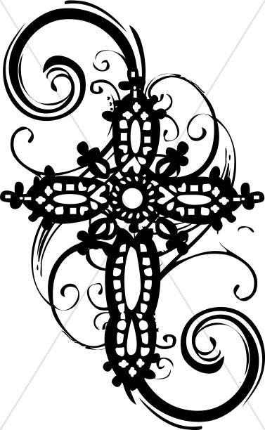 Clip Art Cross Clip Art cross clipart graphics images sharefaith ornate clipart