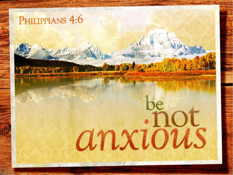 Not Anxious Church PowerPoint
