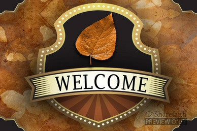 Welcome Fall Video Loop