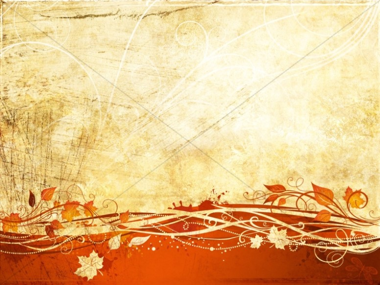 Worship For Autumn Background