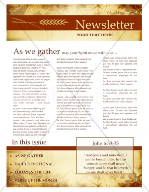 Fall Newsletter Design