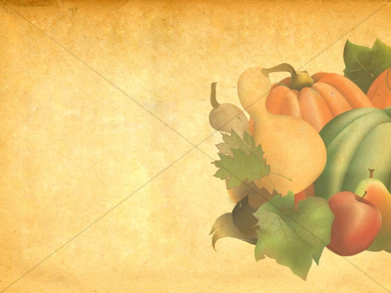 Harvest Of Plenty Worship Background