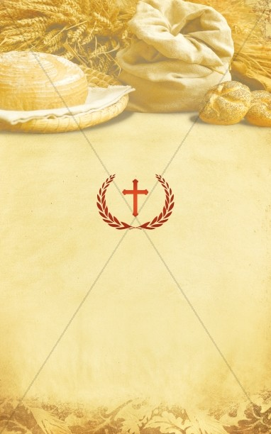 Harvest Cross Bulletin Cover
