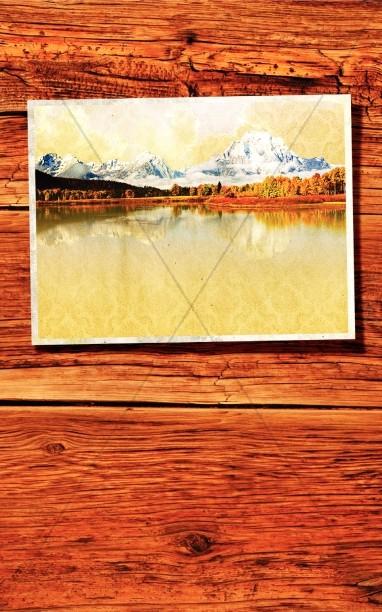 Fall Church Bulletin Cover