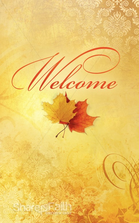 fall welcome bulletin cover harvest fall church bulletin covers