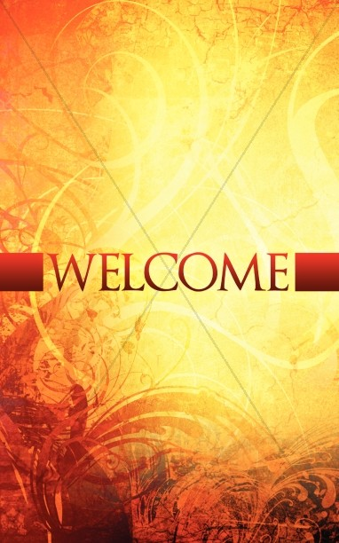 Welcome Fall Church Bulletin