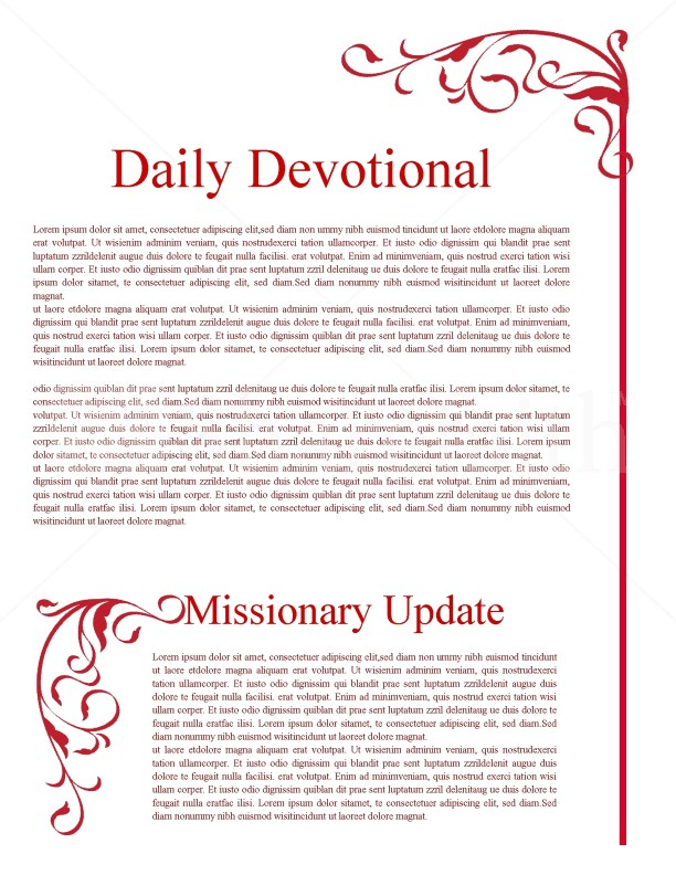 Ministry Newsletter for Fall | page 2