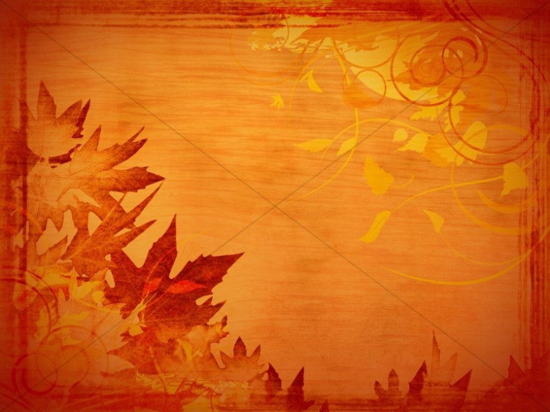 Giving Thanks PowerPoint Slide | Fall Thanksgiving PowerPoints