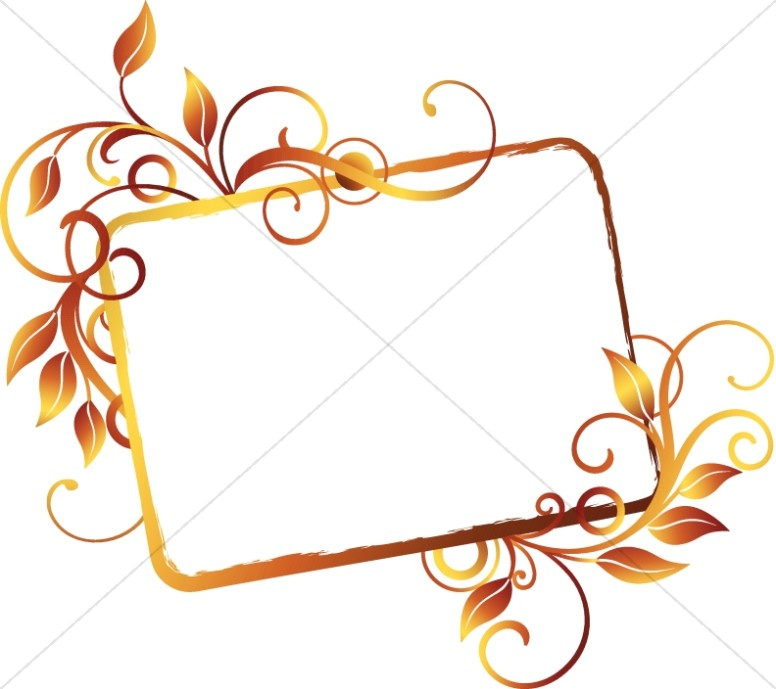 Leaf And Vine Clip Art