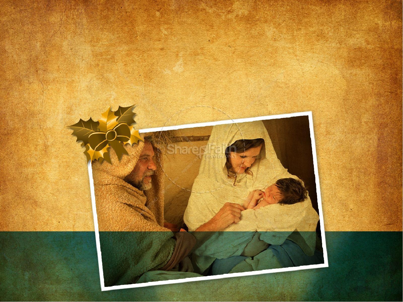 The Birth of Jesus PowerPoint | slide 3