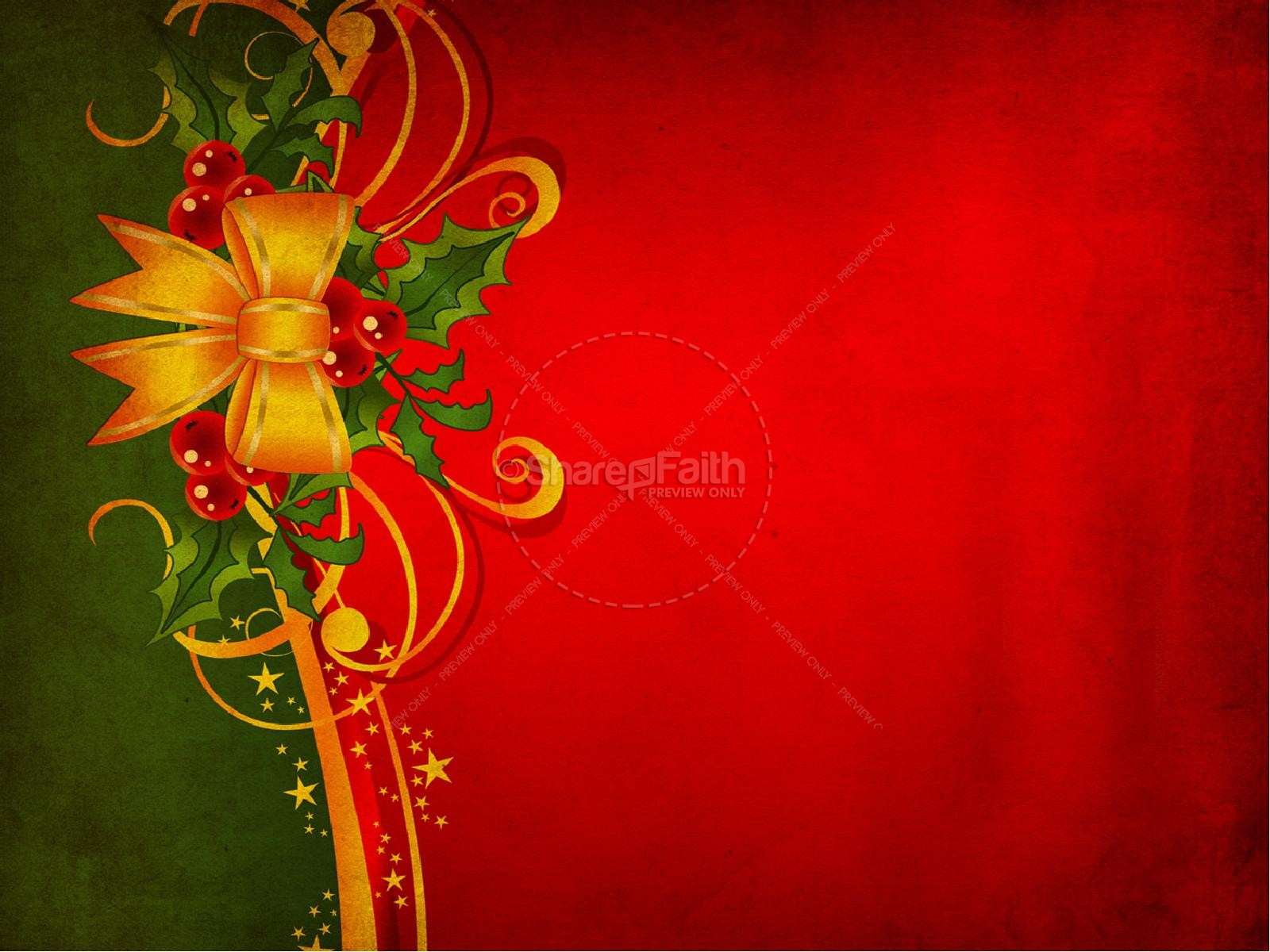the message of christmas powerpoint | christmas powerpoints, Powerpoint templates