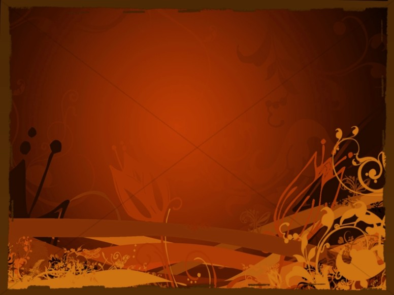 Autumn Worship Background Image