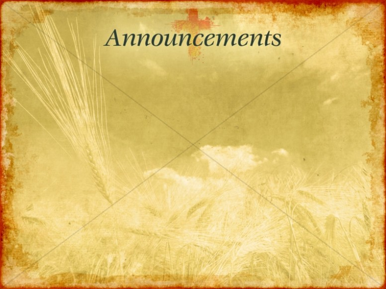 Thanksgathering Announcement Slide