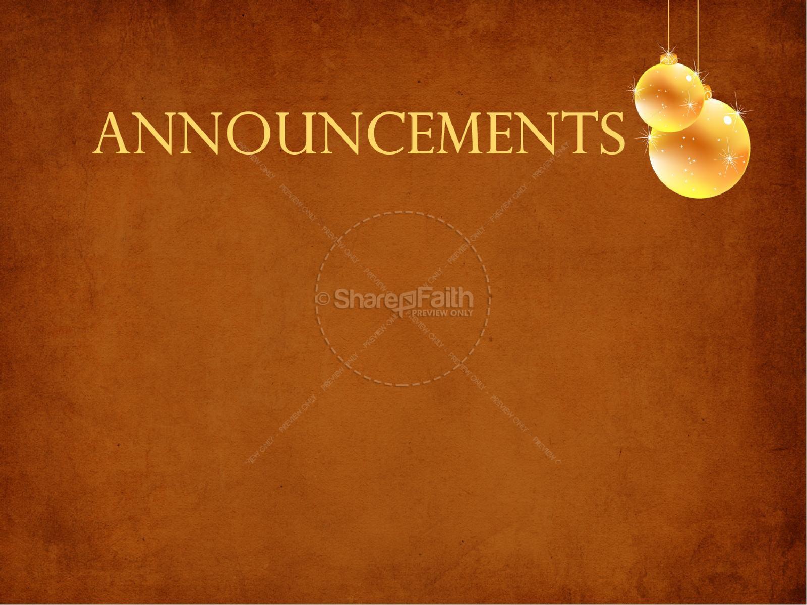 Advent Sermon PowerPoint | slide 6