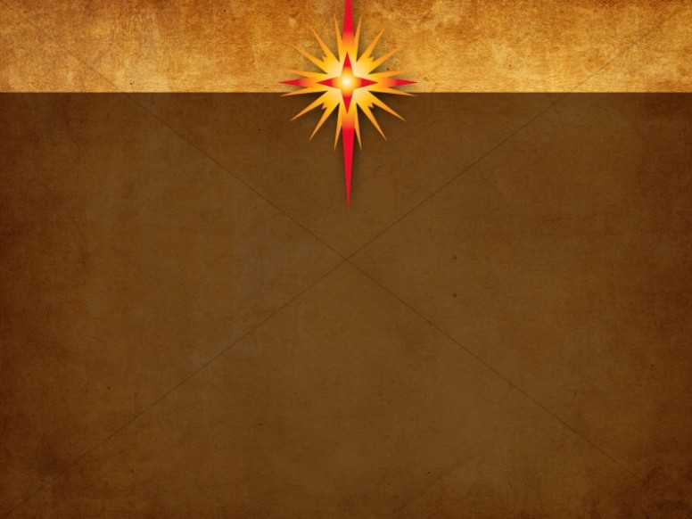 Star Of Bethlehem Worship Background