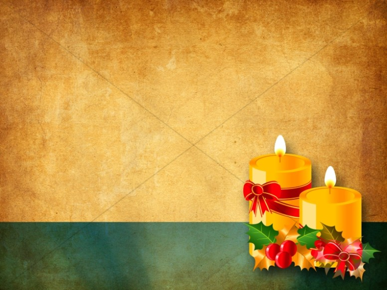 Candles of Christmas Worship Background