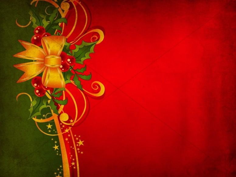 Message Of Christmas Worship Background