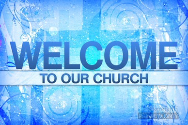 Welcome To Our Church Backgrounds