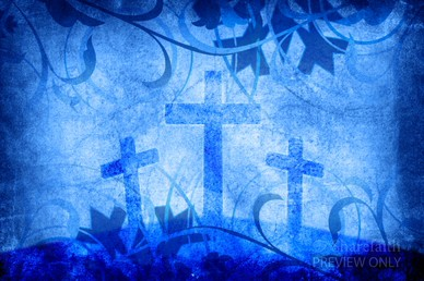 Salvation Cross Worship Video Background