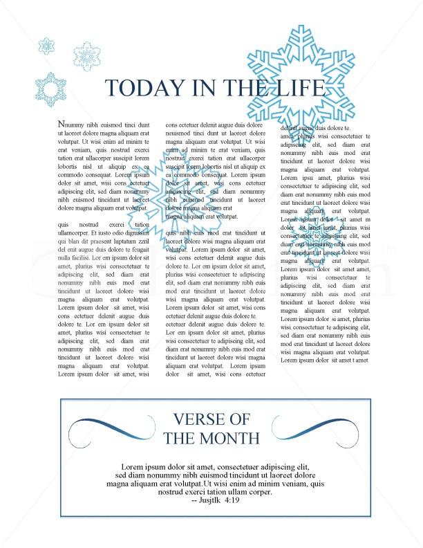 Winter Church Newsletter