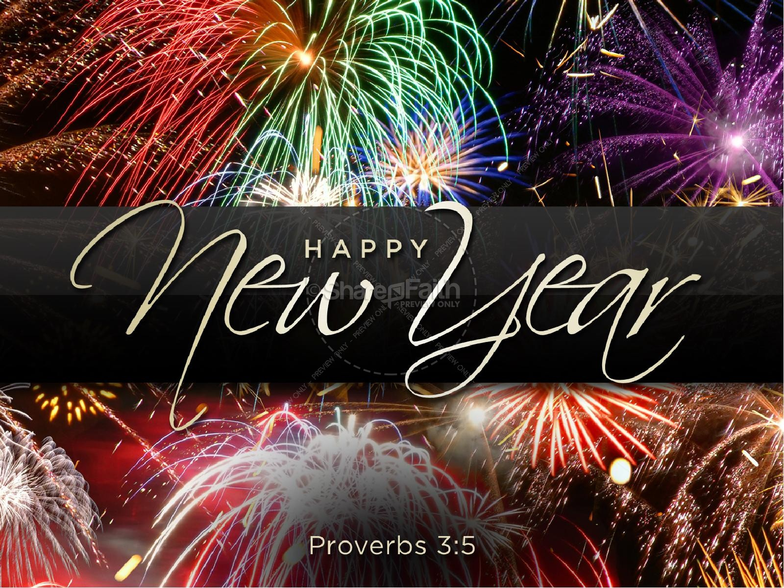 new year church powerpoint, new year's presentations - sharefaith, Presentation templates