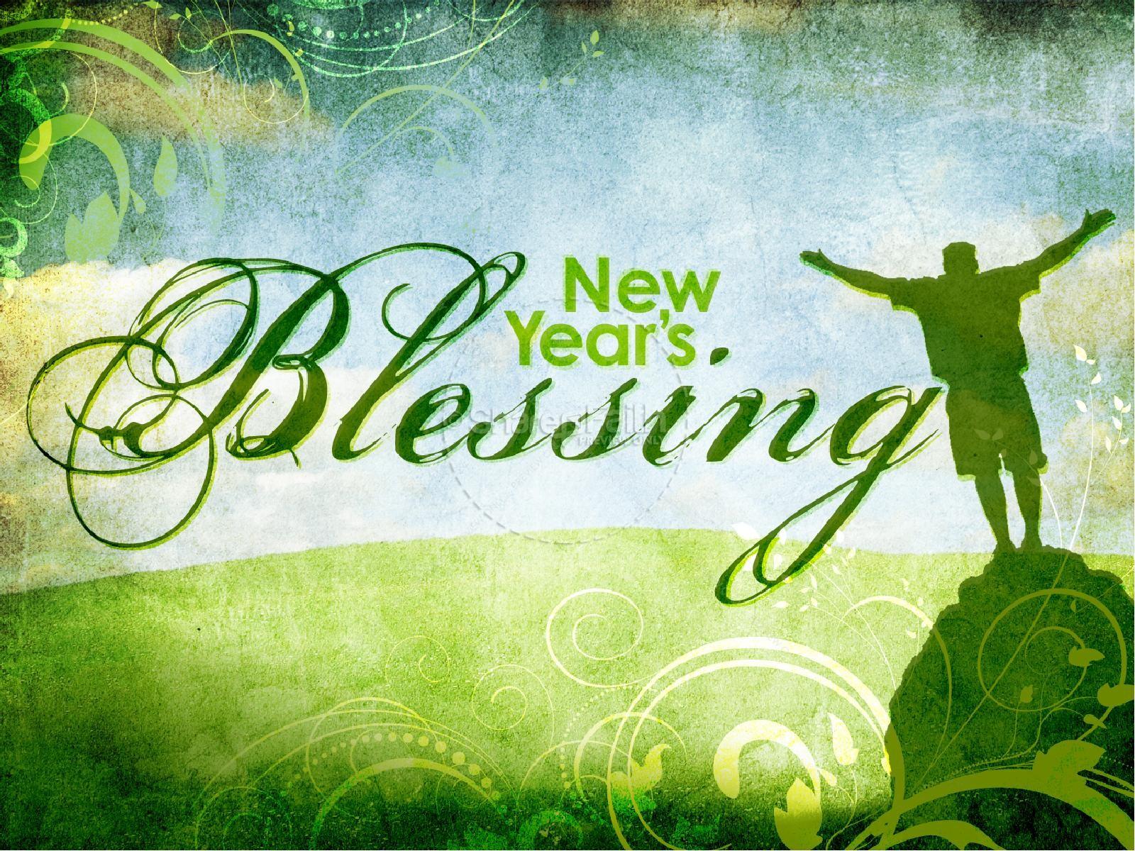 New Years Blessing PowerPoint Sermon | slide 2