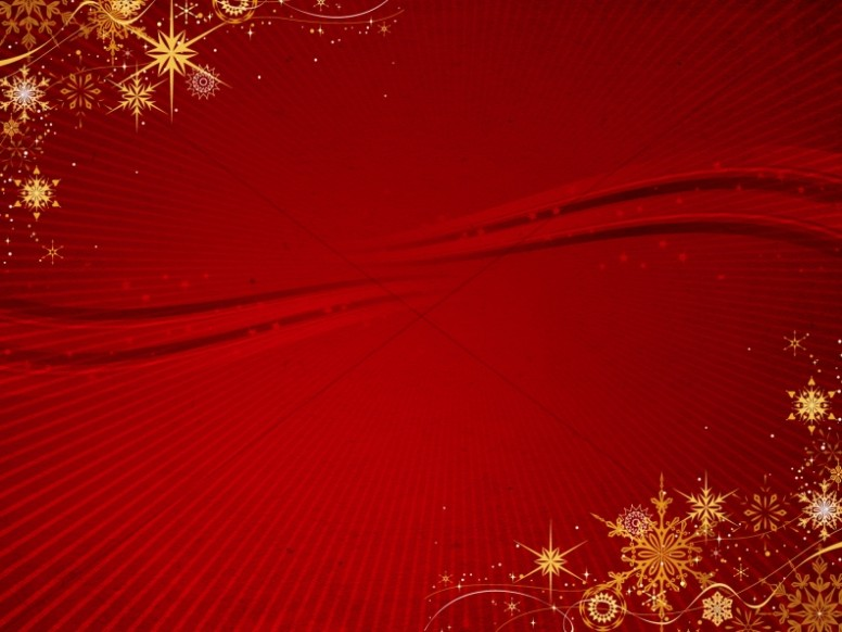 Gold Snowflake Christmas Background Worship Backgrounds