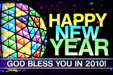 Happy New Year Church Video Loop