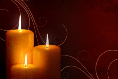 Candle Worship Video Background Loop