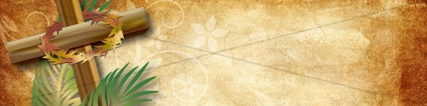 Easter Cross Email Banner