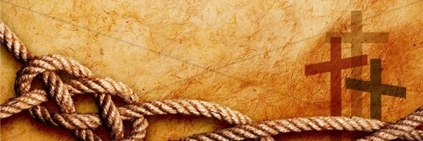 Cross and Rope Email Banner