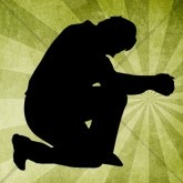 Kneel in Prayer Email Image