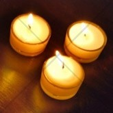 Three White Candles Email Image