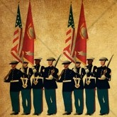 Soldiers and Flags Memorial Day Email Image