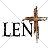 Lent Cross Email Salutation