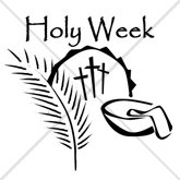 Holy Week Email Salutation